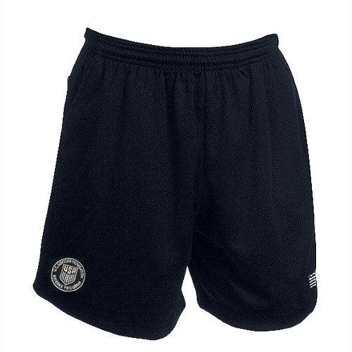USSF Economy Black Soccer Referee Shorts (Adult ()