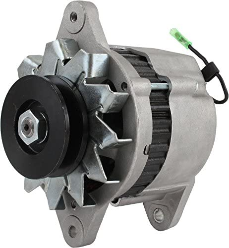 DB Electrical AHI0084 Alternator For Yanmar Marine Diesel 1Gm 1Gm10 2Gm 2Gmf 2Qm15 2Qm20Y 3Gm 1980 81 82