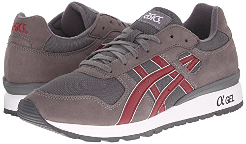 Asics Gt Leather Gris Trainers ii Mens zTpqrwz