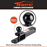 Towever 84209 2 inches ATV Receiver Hitch 3 in 1