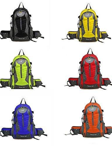 GXS Tourenrucksäcke/Wandern Tagesrucksäcke/Radfahren Rucksack/Travel Duffel ( Gelb/Grün/Rot/Schwarz/Blau/Wie Bild , 35 L) Wasserdicht/Schnell