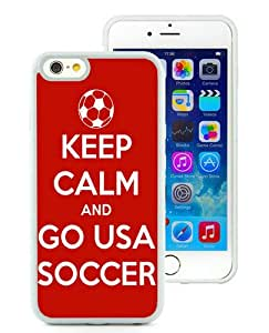 Hot Sale iPhone 6S Case,Usa Soccer 32 White iPone 6/6S 4.7 inches Screen TPU Cover Case Fashion and Popular Design