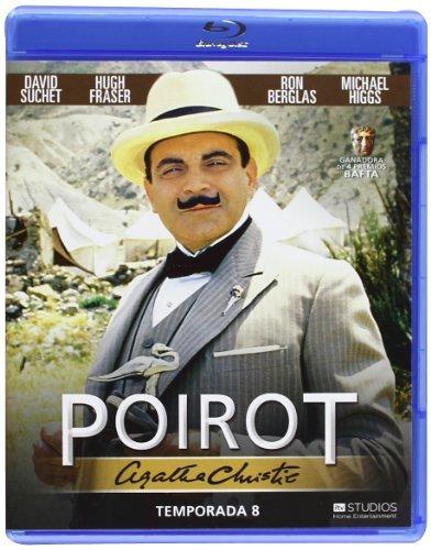 Hercule Poirot - Series 5 / Agatha Christie's Poirot - Season 8 ( Agatha Christie: Poirot ) ( Agatha Christie's Poirot - Season Eight ) [ Origine Espagnole, Sans Langue Francaise ] (Blu-Ray)