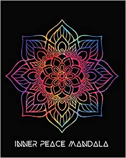 Inner Peace Mandala: Rainbows Mandala Art Journal Cover