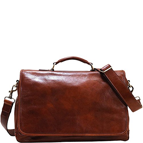 Floto Italian Leather Messenger Bag Briefcase - 4