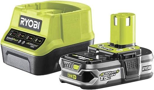 Ryobi RC18120-115 - Pack cargador 1 h + 1 Batería Litio-Ion 18V 1,5Ah: Amazon.es: Bricolaje y herramientas