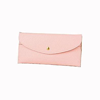 Amazon.com: OULINBEIN Thin hecho a mano Monederos – Cartera ...