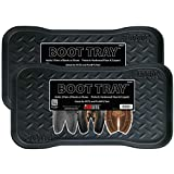 JobSite Boot Tray, Multi-Purpose for Shoes, Pets, Garden - 71 cm x 35 cm - 2 Pack