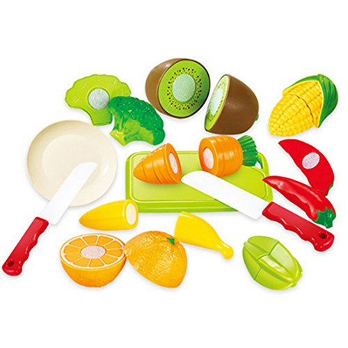 Jeux d 39 imitation cuisine wolfbush ensemble de 12pcs jouet - Cuisine plastique jouet ...