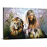 """Spencer Williams Premium Thick-Wrap Canvas Wall Art Print entitled Way Truth Life 36""""x24"""""""