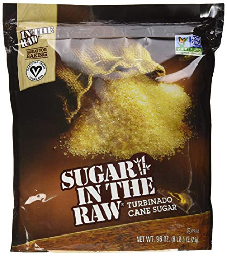 Sugar in the Raw Cane Sugar, 6 lbs, Pack of 2 (Best Lemonade In Los Angeles)