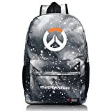 Best EcoCity Cool Backpacks - MRstriver Unisex Leisure Overwatch High Capacity Canvas School Review