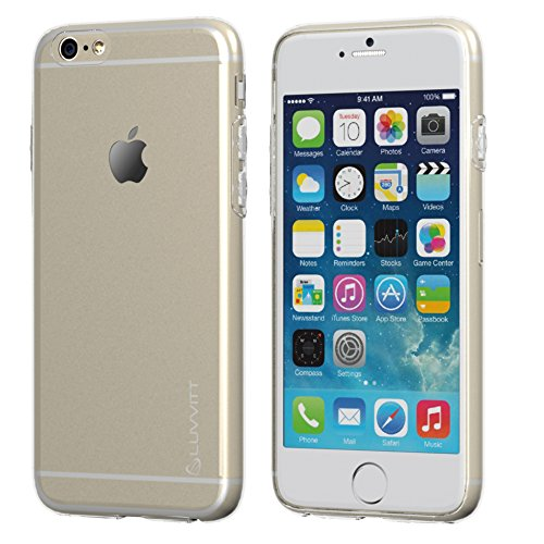 "iPhone 6, ® Luvvitt Coque ULTRA SLIM pour iPhone 6/0.6 mm Transparent Clear Coque arrière/Air/4,7 ""Transparent"