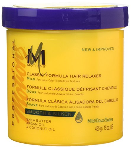 Motions Classic Formula Hair Relaxer Mild, 15 Ounce (Best Hair Relaxer For Thick Hair)