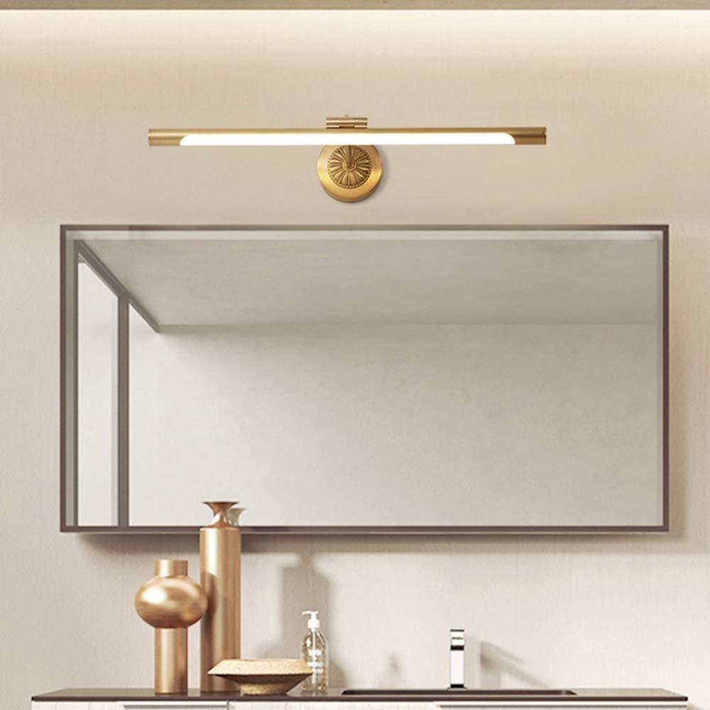 Dwlxsh Bath Vanity Lights Led Bathroom Make Up Bar Lighting Led Vanity Lights Fixtures Stainless Steel