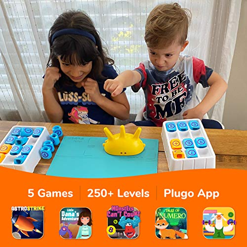 Plugo Count by PlayShifu – Math Games with Stories & Puzzles for 5-10 Years – Educational STEM Kids Toys with Addition…
