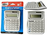 Calculator in White / Grey Size: 3.4'' x 4.75'' , Case of 96