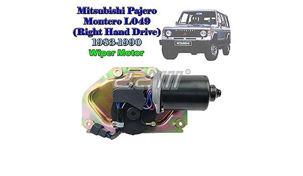 JDM Mitsubishi Pajero Montero L049 derecha motor para ...