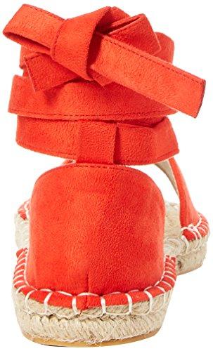 Office Espadrillas Rosso Red bay 60000 Summer Donna UanqUwHr