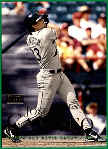 2000 SkyBox #9 Jose Canseco TAMPA BAY DEVIL RAYS