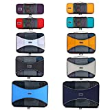 Pro Packing Cubes 10 Piece Lightweight Travel Cube Set of Suitcase Organizers (Mixed Colors 2)