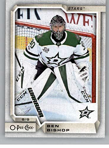 (2018-19 OPC O-Pee-Chee Hockey #325 Ben Bishop Dallas Stars Official 18/19 NHL Trading Card)