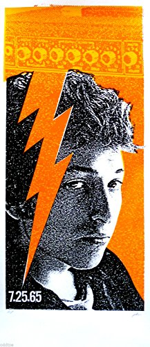 BOB DYLAN Art Print Artist Proof Original SILKSCREEN by Print Mafia 1965 Bob