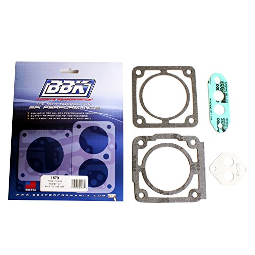 75 Mm Throttle Body (BBK 1573 75mm Throttle Body Gasket Kit for Ford 5.0L)
