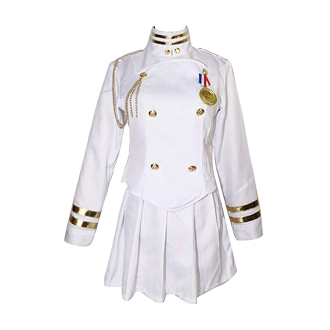 Amazon.com: YOMORIO Azur Lane Takao Atago Cosplay Uniform ...