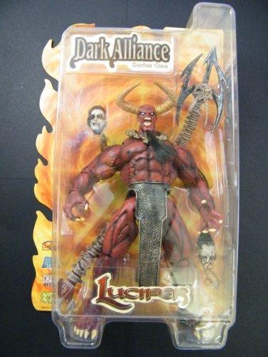 Dark Alliance ROT Lucifer Action Figure 2001 Chaos Comic Diamond Select by Art Asylum