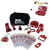 Toucan City Tool kit (9-piece) and Ideal Basic Lockout/Tagout Kit (15-Piece) 44-970