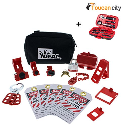 Toucan City Tool kit (9-piece) and Ideal Basic Lockout/Tagout Kit (15-Piece) 44-970 by Toucan City (Image #8)