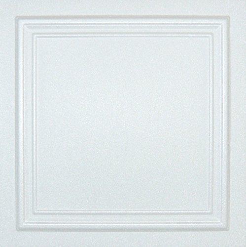 Styrofoam Glue Up Ceiling Tiles White 20x20 R24W Pack of 8 (Best Emulsion Paint Sprayer)