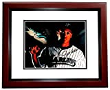Giancarlo Stanton Signed - Autographed Florida Marlins 8x10 inch Photo MAHOGANY CUSTOM FRAME - New York Yankees - Guaranteed to pass PSA or JSA