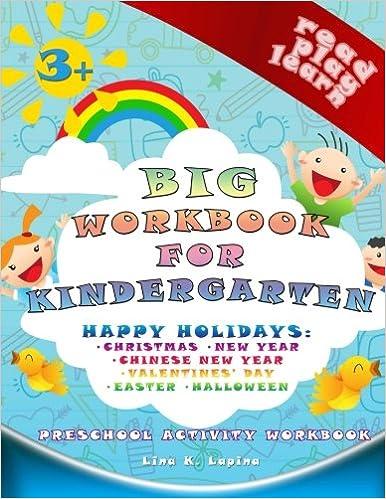 Big Preschool Workbook (Teacher Edition): worksheets and dictionary ...