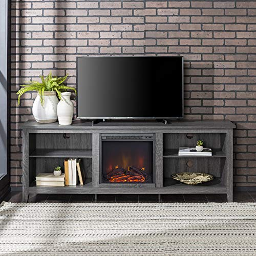 65 inch tv stand with fireplace - 7