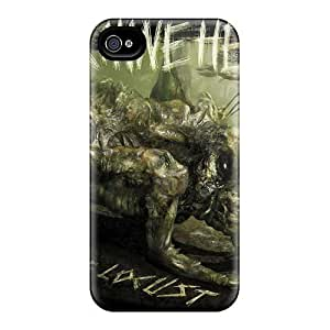 New Premium ZGn2912YUnt Case Cover For Iphone 4/4s/ Machine Head Band Protective Case Cover