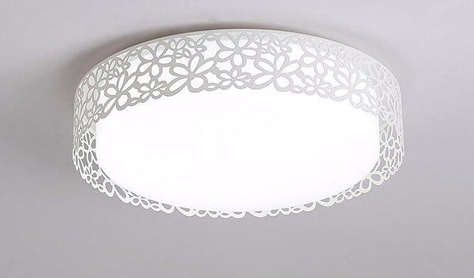 Plafoniere Tonde Da Soffitto : Gzlight moderno plafoniera led lampada da soffitto minimalista