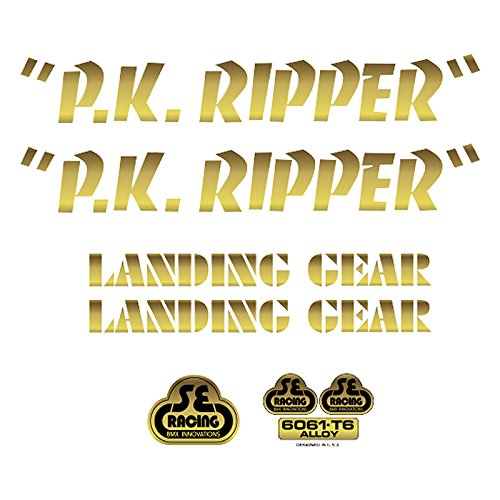 Se Bikes PK Ripperデカールセット B07B6V7D2C ゴールド ゴールド