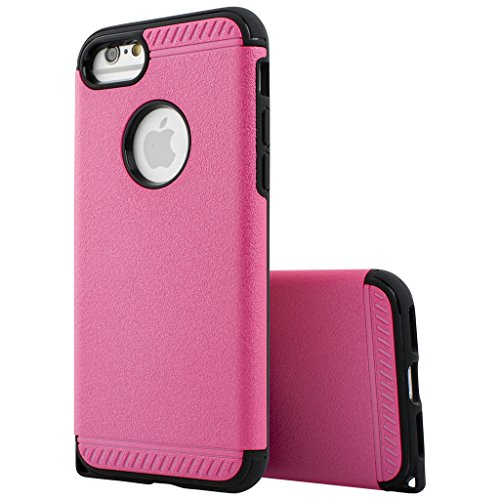 Decent Style Apple iphone 6 Case cover, Designer Case Frame Protective Cover For iPhone 6 (Pink)