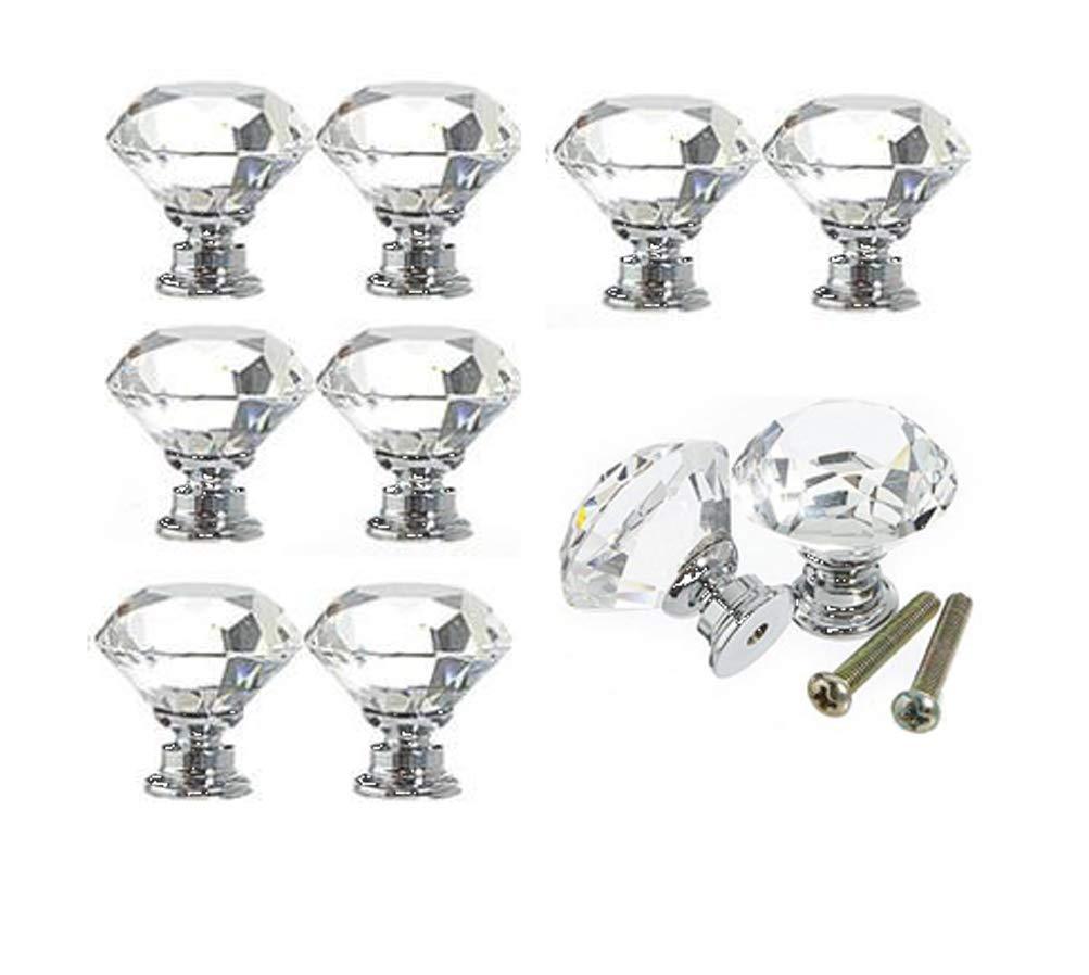 10 Tiradores - Simil Cristal (140U6DRY)