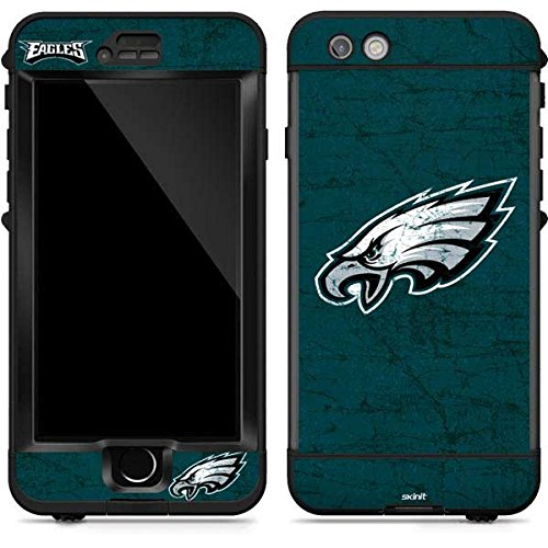 (Skinit Philadelphia Eagles Distressed LifeProof Nuud iPhone 6s Plus Skin for CASE - Officially Licensed NFL Skin for Popular Cases Decal - Ultra Thin, Lightweight Vinyl Decal Protection)