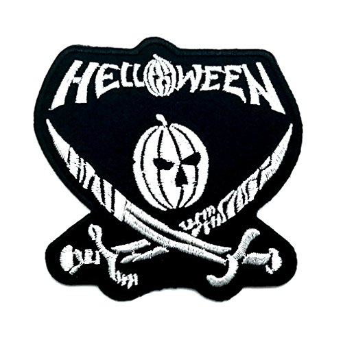 Wasuphand Halloween Heavy Metal Rock Band Logo Heavy