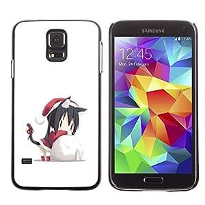 YOYO Slim PC / Aluminium Case Cover Armor Shell Portection //Christmas Holiday Cute Santas Helper 1279 //Samsung Galaxy S5