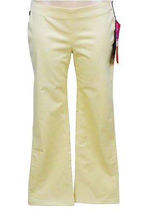 LEVI S 818 RED TAB Pantalon Jaune Satiné SLIM FIT BOOTCUT jean Femme NEUF  (W26 L32 21b6186b8aa