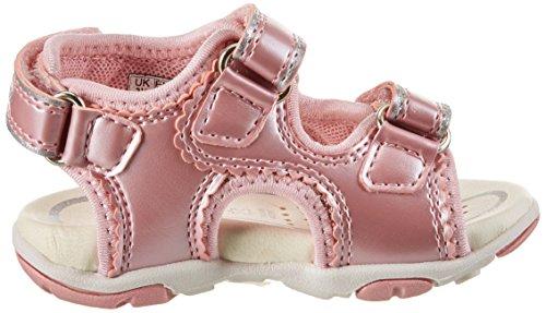 Geox B Sandal Agasim Girl B, Botines de Senderismo para Bebés Rosa (LT PINKC8010)
