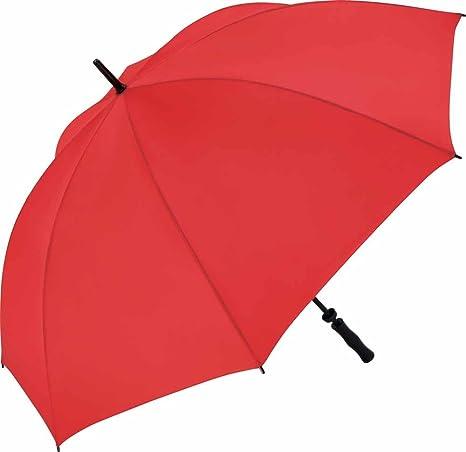 Fare – Paraguas Golf 130 cm – Fibra de vidrio – 2235 – Color rojo –