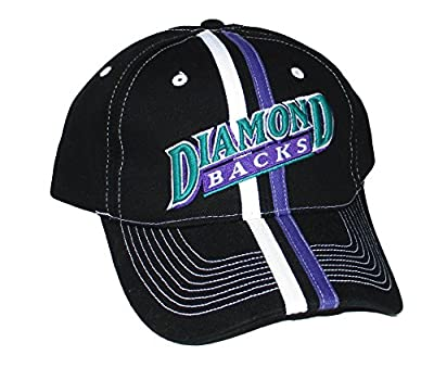 Arizona Diamondbacks Adult Adjustable Hat Cap - Team Throwback Colors by Outerstuff Ltd.