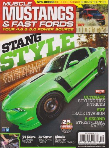 Muscle Mustangs & Fast Fords Magazine October - Magazine Performance Mustang