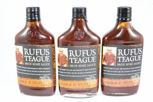 Rufus Teague Touch O' Heat BBQ Sauce, 16 oz.  by Rufus Teagu